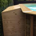 locale tecnico piscina legno