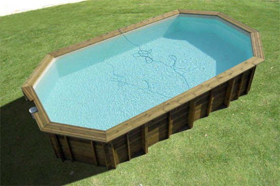 Piscine fuori terra in legno heron piscine - Piscina fuori terra costi ...