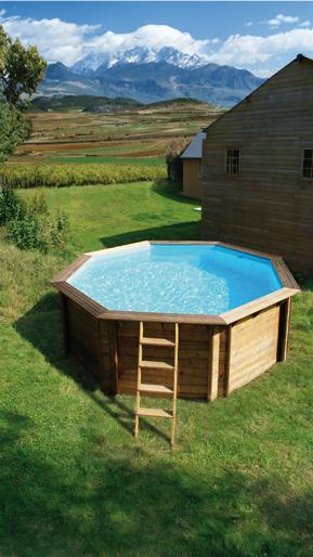 Piscine fuori terra in legno heron piscine - Tappetino per piscina ...