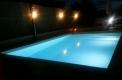 piscina illuminata costruzione piscine heron brescia