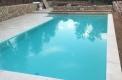 costruzione Brescia piscina skimmer con tapparella