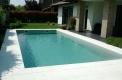 costruzione piscine skimmer rivestiemnto girigio antracite