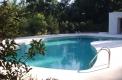 costruzione piscine con skimmer sfioratore
