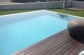 piscina sfioro a cascata su due lati 2