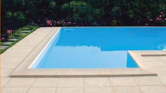 bordo piscina skimmer STANDARD