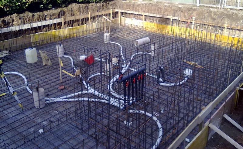 Piscine in cemento armato heron piscine - Costruzione piscina in cemento armato ...