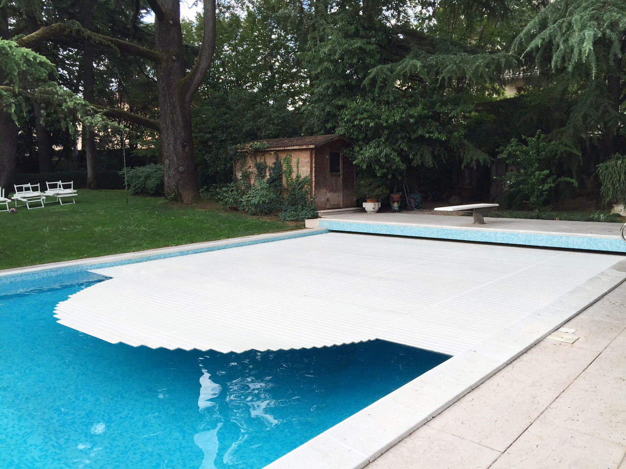 tapparella piscina doghe standard Tapproll