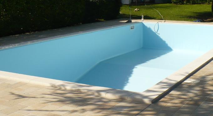 rivestimento piscina colore azzurro