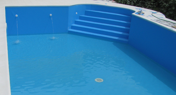 rivestimento piscina colore blu adriatico