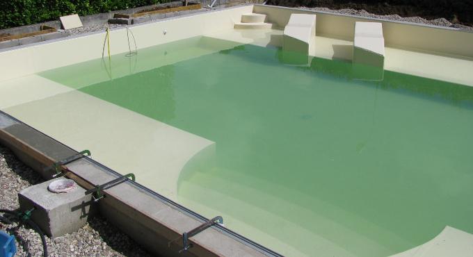 rivestimento piscina colore sabbia