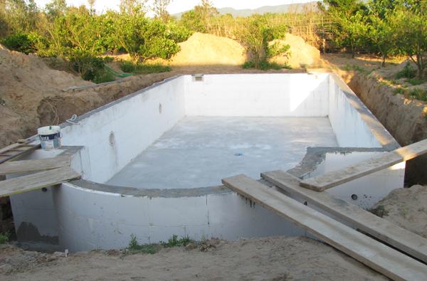costruzione piscine in casseri di polistirolo