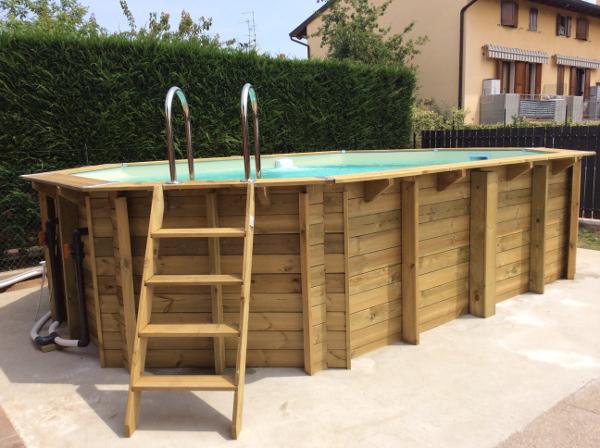piscine fuori terra in legno vendita e montaggio