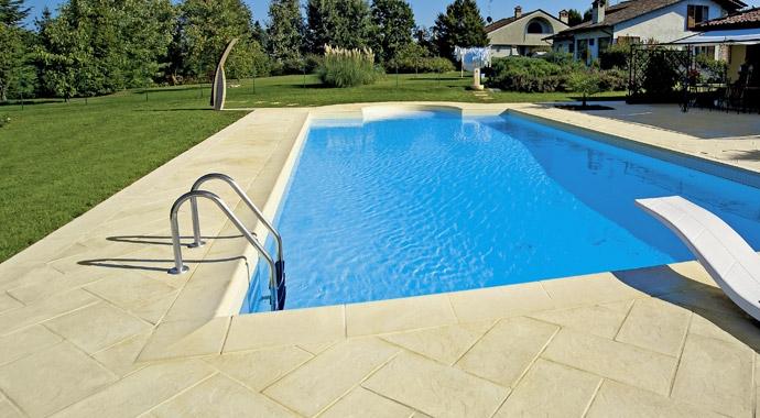 pavimentazione solarium piscina heron piscine